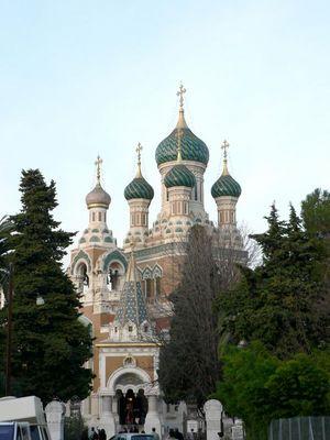 Nice - Eglise russe