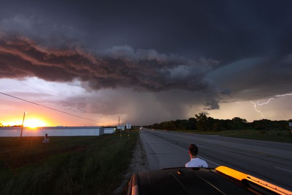 Nice Thunderstorm in Texas