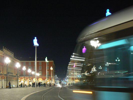 Nice, Tram et Art dans la ville
