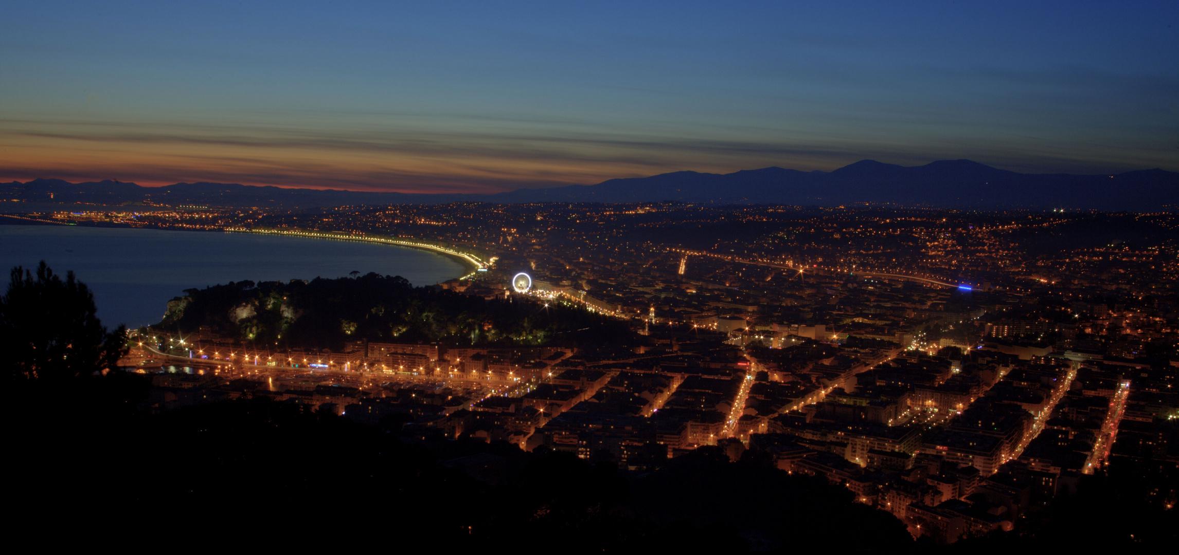 Nice ville de lumière