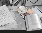 nicht alltäglich (6) - unbenutze Teetasse auf Kalenderblatt ....