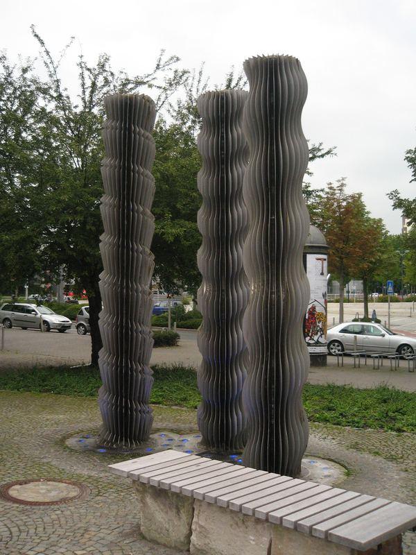 Nicht der Brunnen vor dem Tore, sondern mitten in meiner Heimatstadt