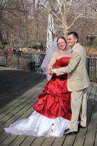 Nicht der Kongress, das Brautpaar tanzt ...