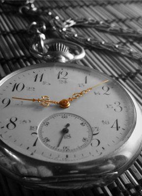 Nicht die Zeit vergeht sondern wir vergehen