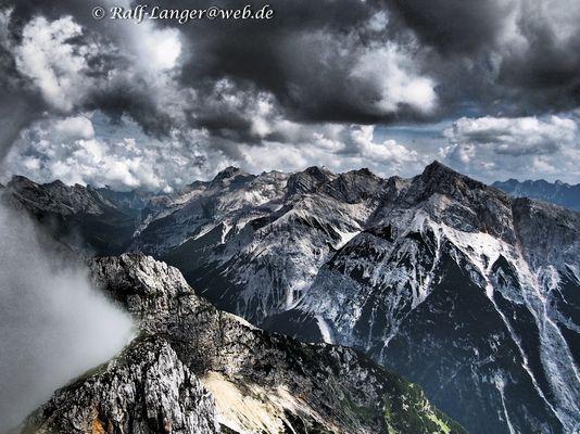 nicht ganz die Alpen