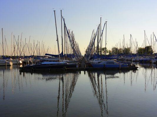 Nicht Kroatien - Weiden am See (Marina)