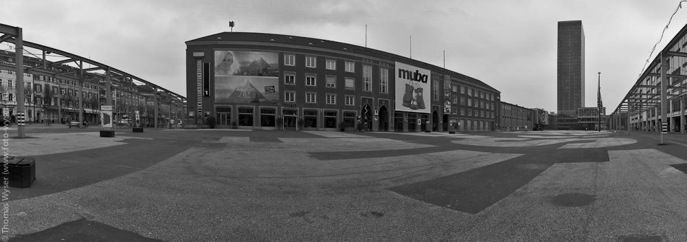 Nicht mehr lange...Messeplatz Basel