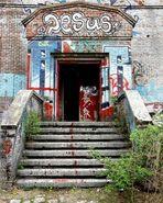 Nicht nur das Grafitti ...