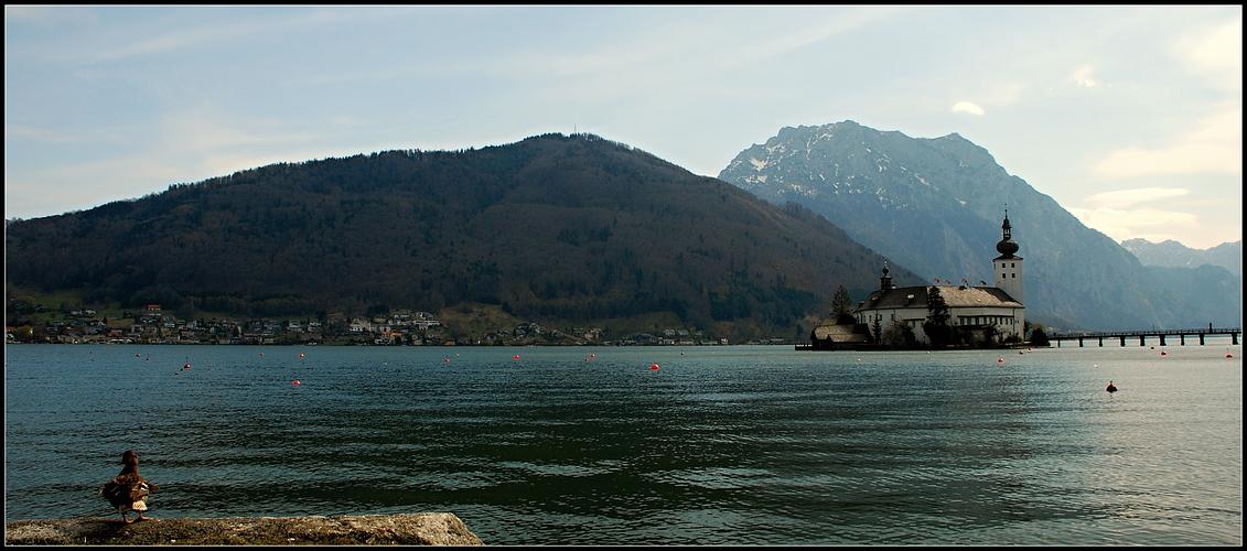 .....nicht nur ich seh Schloss Orth sehr gerne !!!