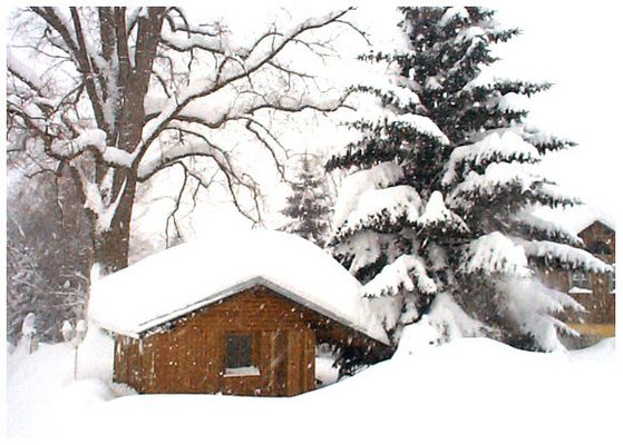 Nichts als Schnee...