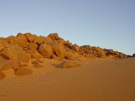 Nichts als Wüste ...
