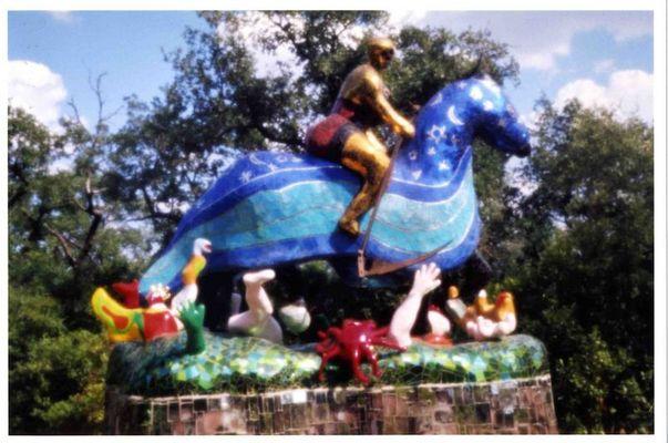Nicki de Saint Phalle, Tarot-Garten Italien