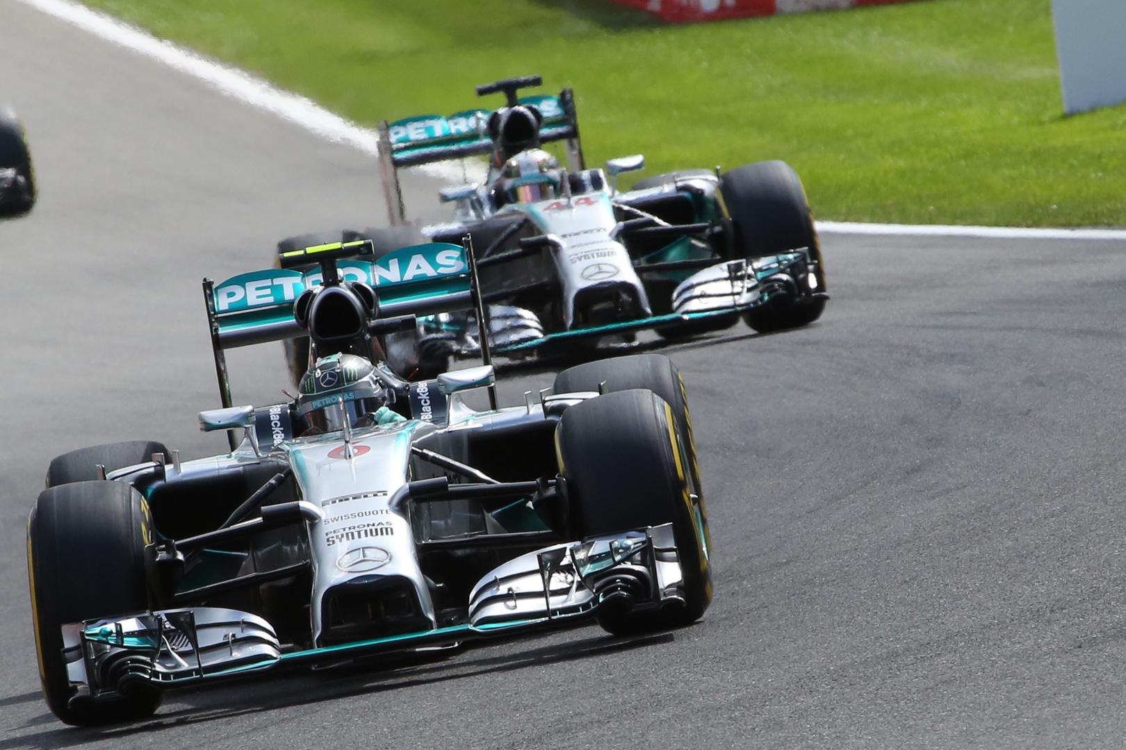Nico Rosberg-Lewis Hamilton Krieg der Sterne