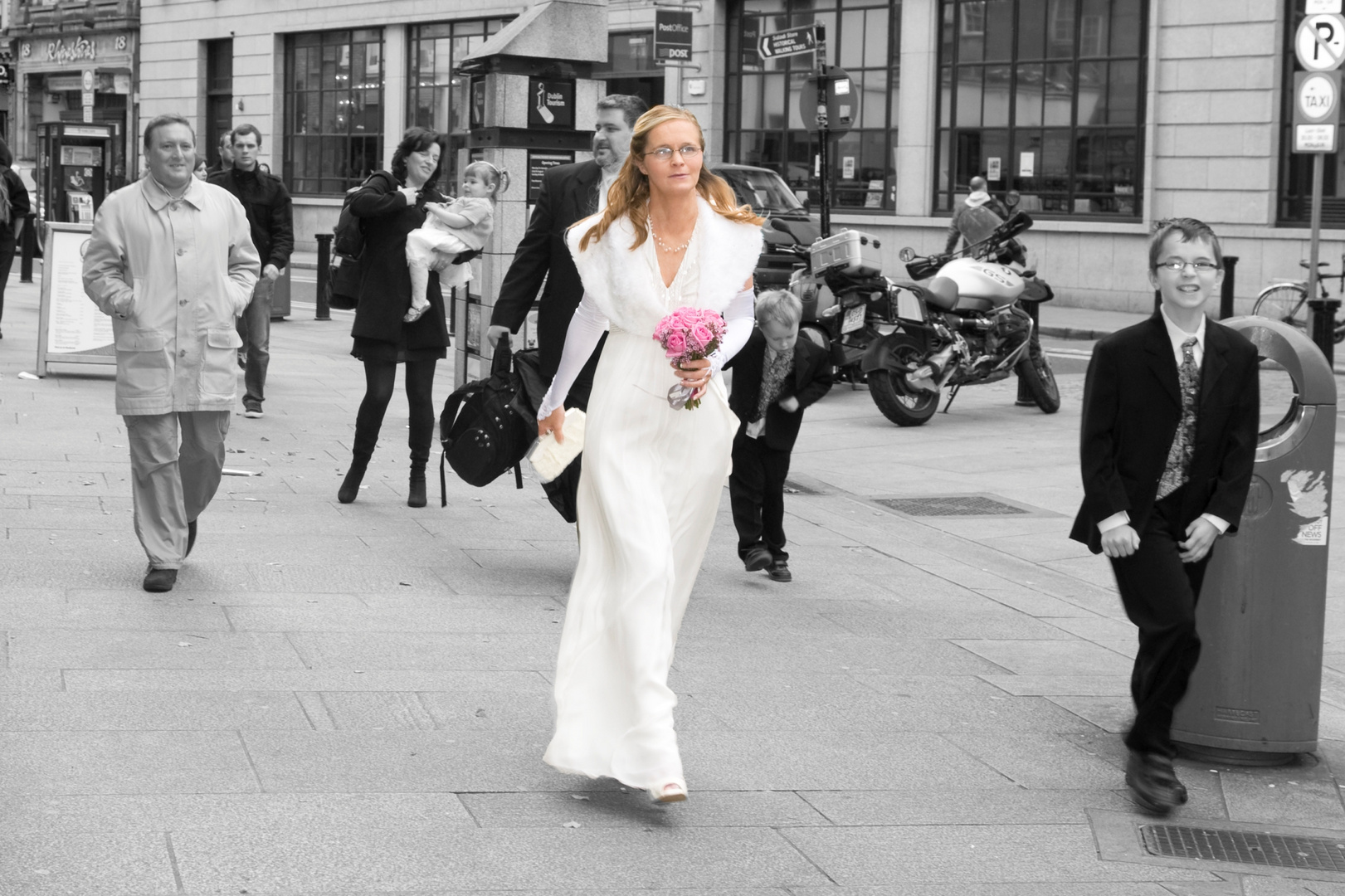 Nicola's wedding day
