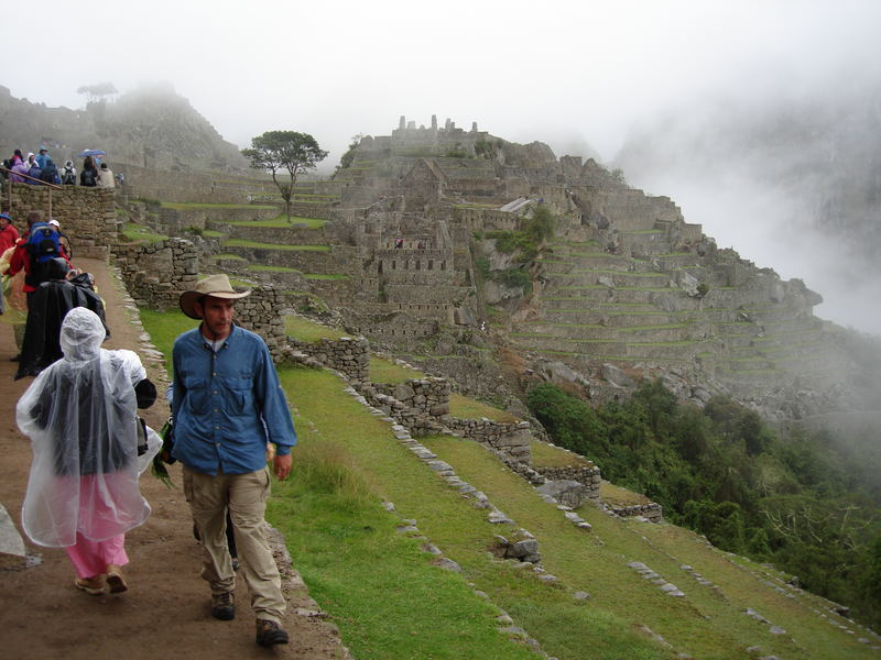 Niebla en Machu-pichu