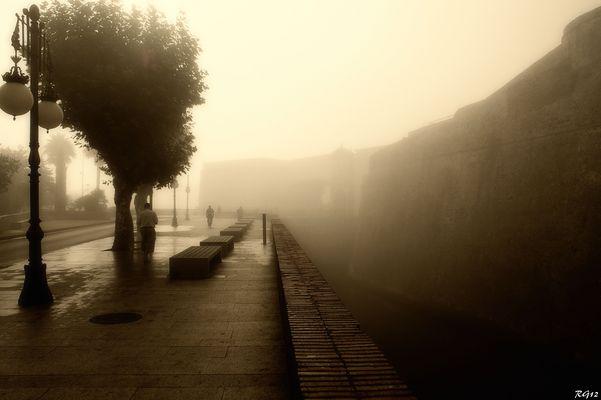 Niebla sepia