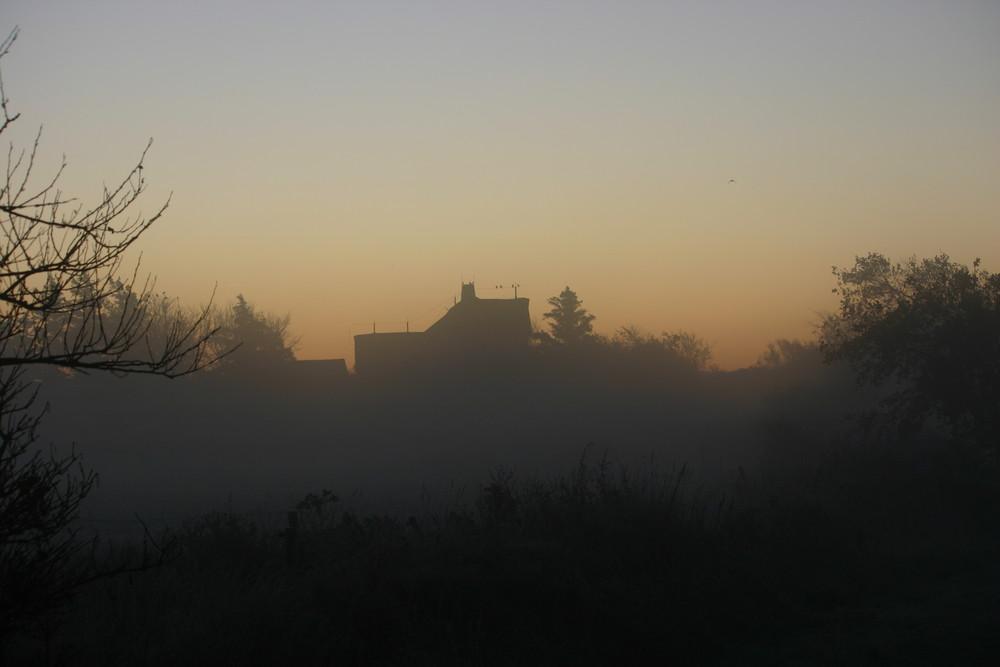 Nieblum im Morgennebel