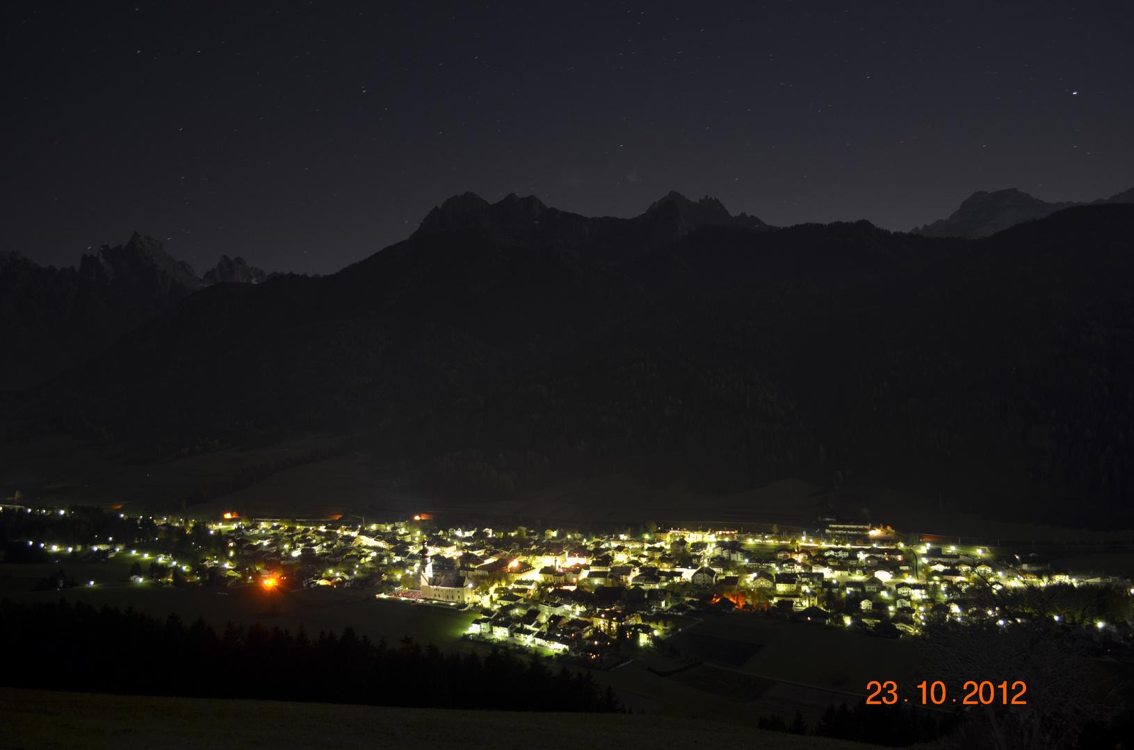Niederdorf bei Nacht