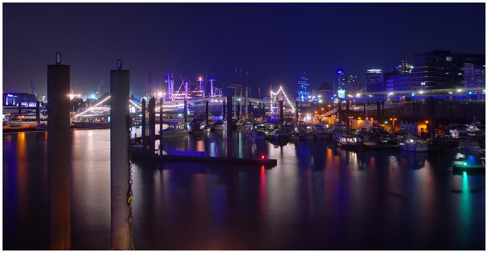 Niederhafen in blau