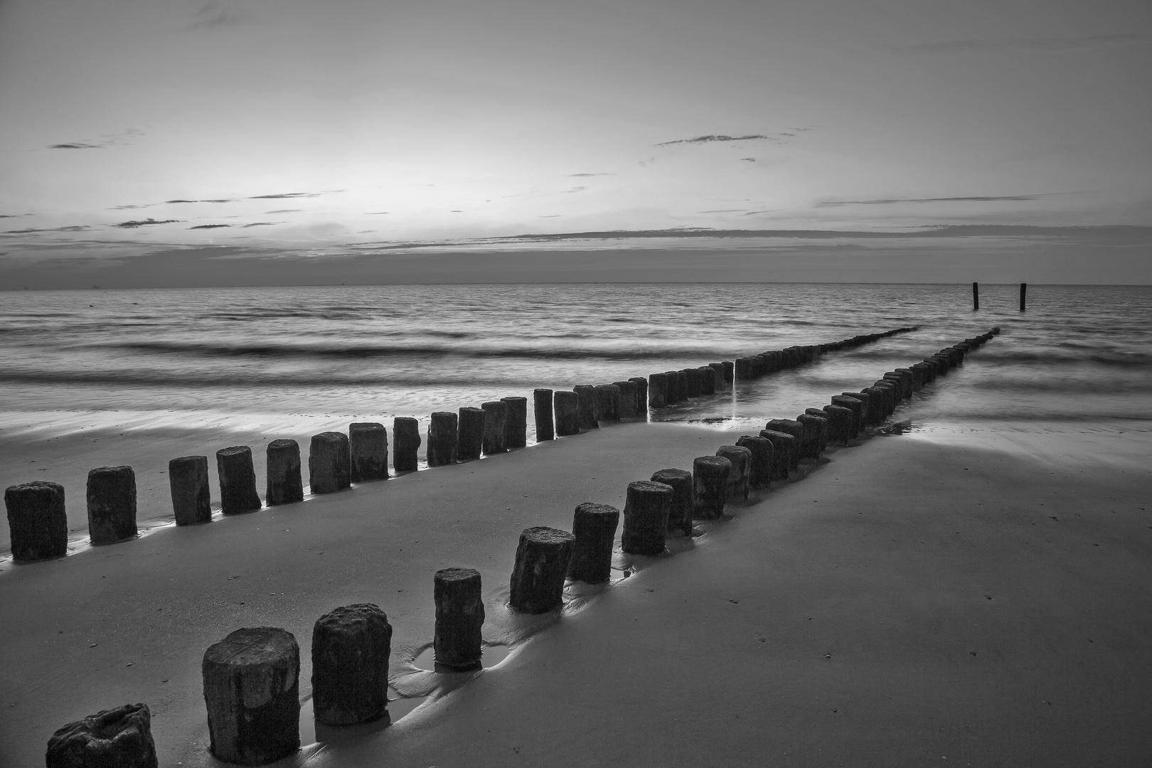 niederländische Küste bei Groede