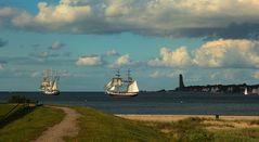 Niederländische Segler auf der Kieler Förde