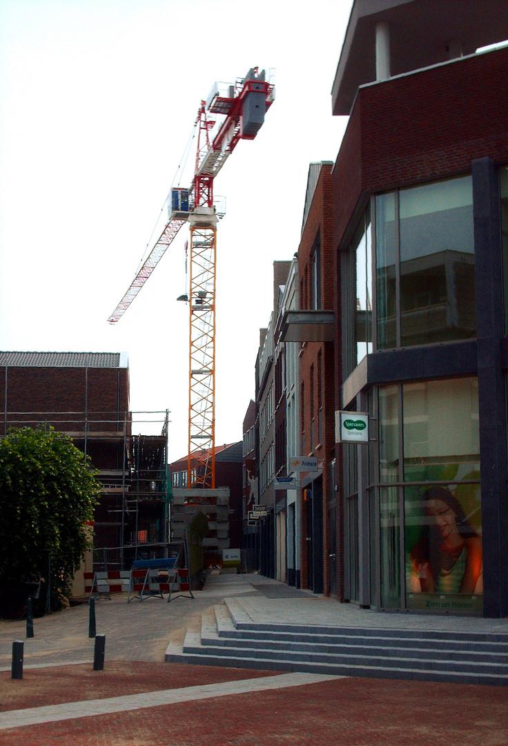 Niederlande - Einkaufszentrum in Deurne - Potain MD 265 B1