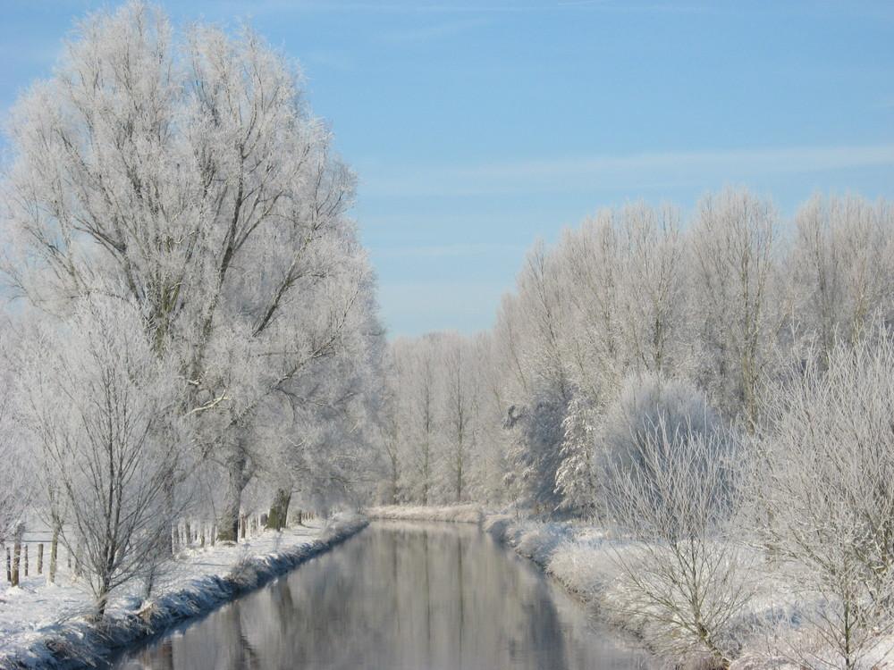 Nierswanderweg im Winter