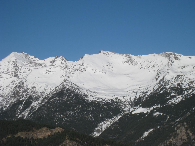 Nieve en el Pireneo