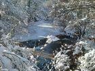 Nieve en el Río Baias