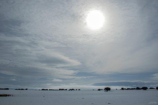 Nieve en La Mancha