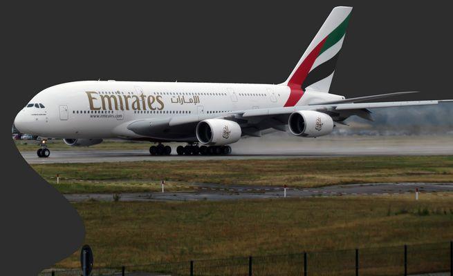 Nigelnagelneuer A380 für Emirates - reloaded