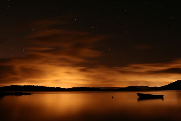 night at loch lomond