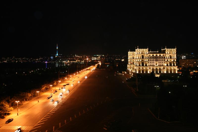 Night City Baku