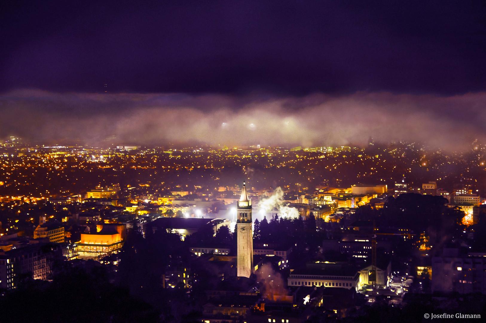 Night Clouds of Berkeley
