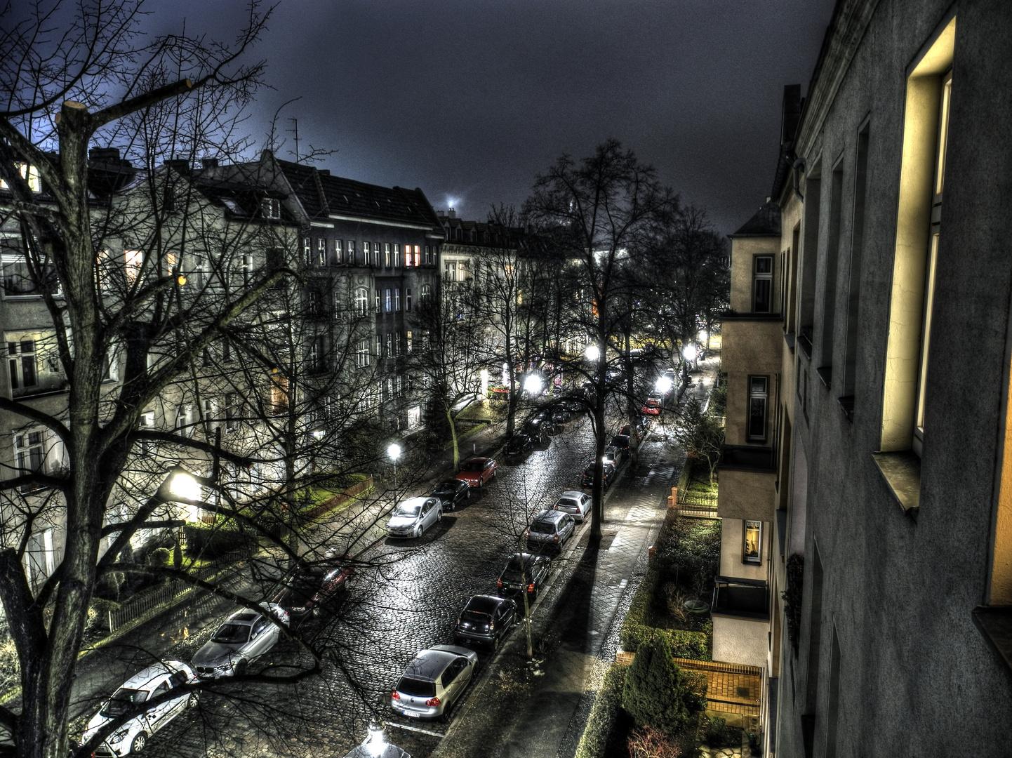 Night in Schlieperstraße