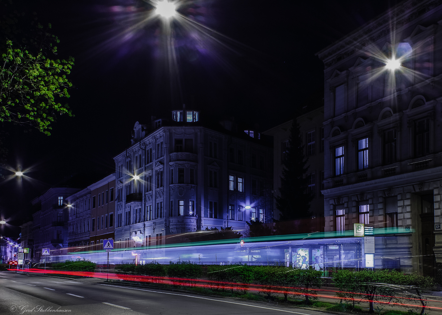 Night in the cityy