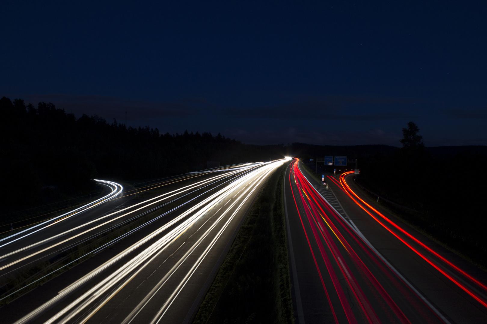 Night light street