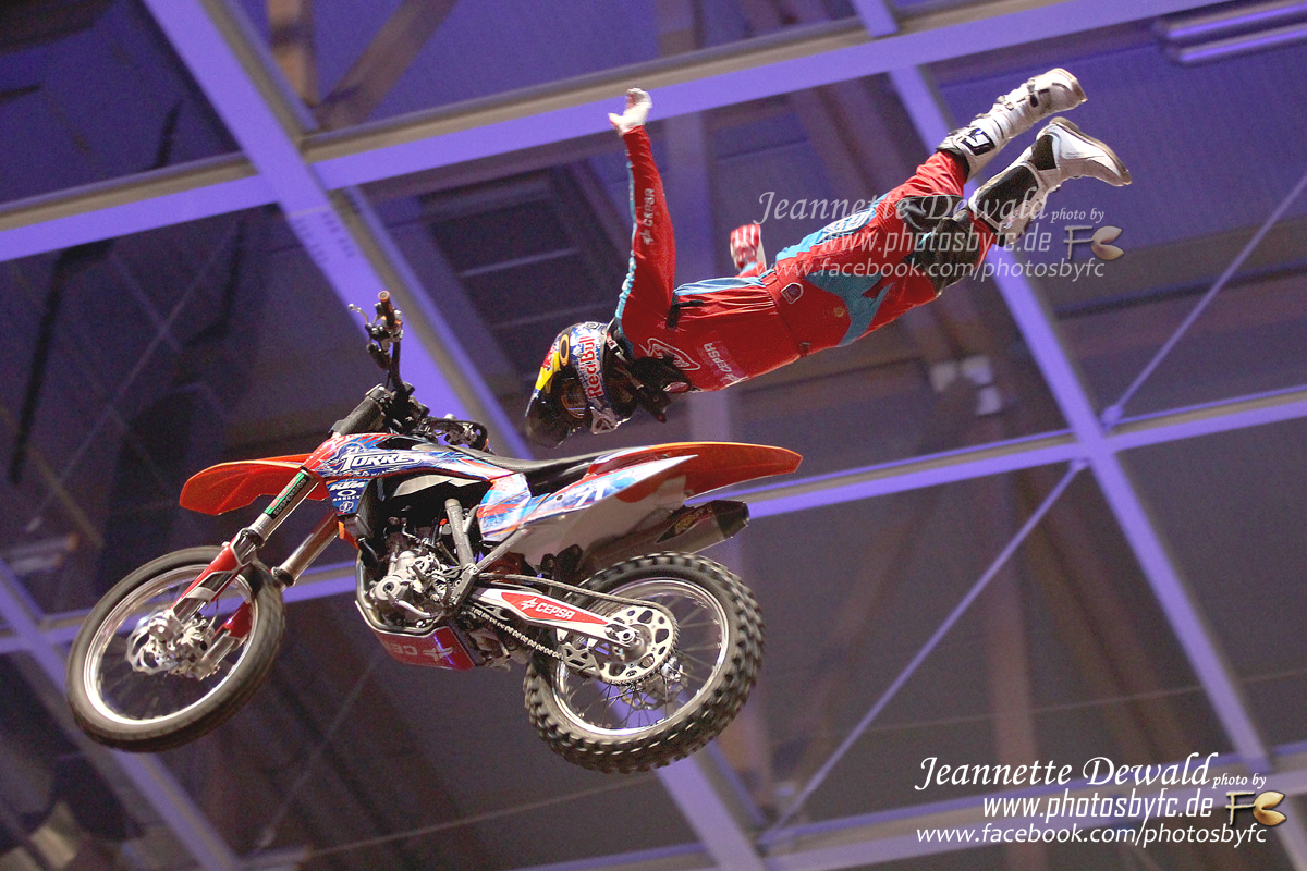 Night of the Jumps 2014 - FMX Finale - SAP Arena Mannheim - Dany Torres