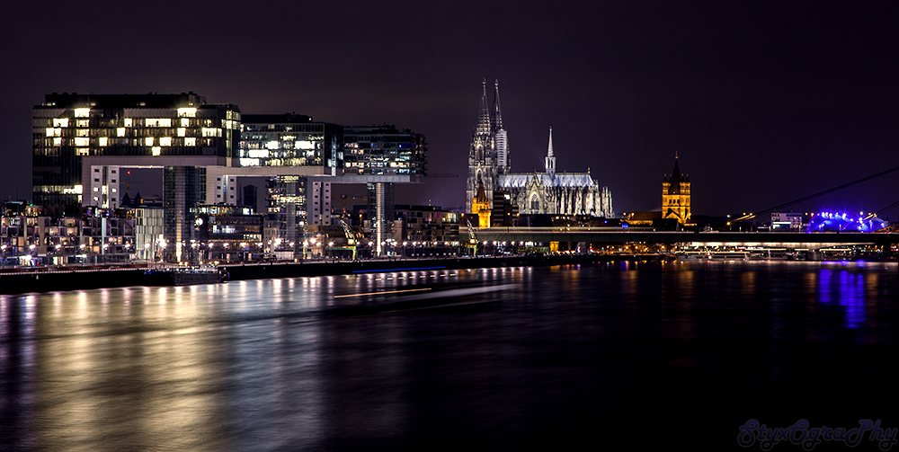 Night over Cologne