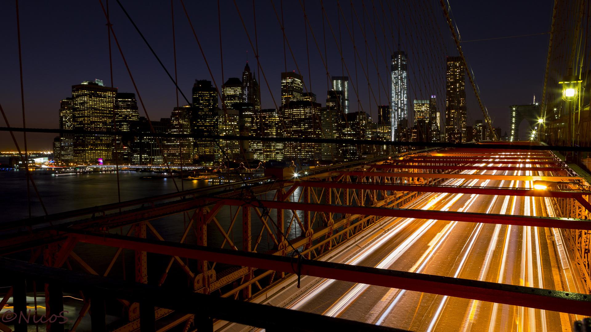 Night over Manhattan