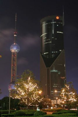 Night over Pudong