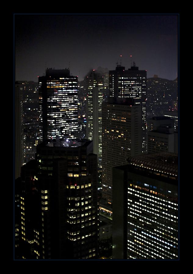 night over Shinjuku