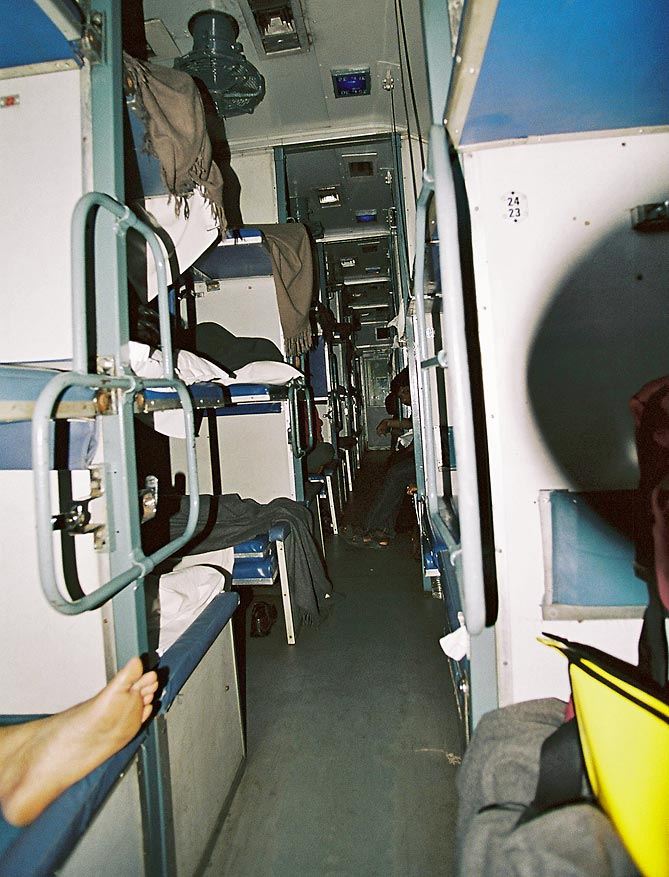 Night train to Goa
