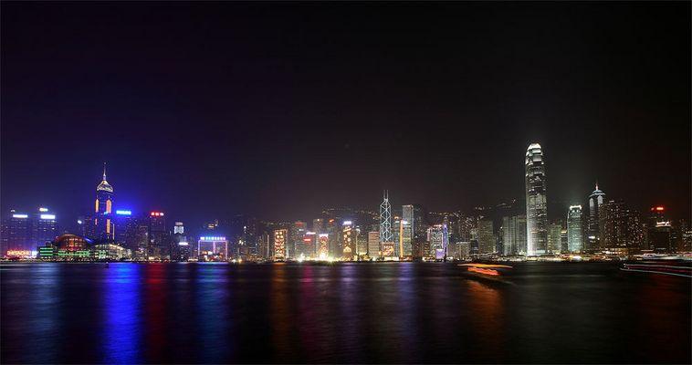 Night view @ Hong Kong