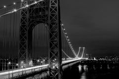 Night view of the George Washington Bridge