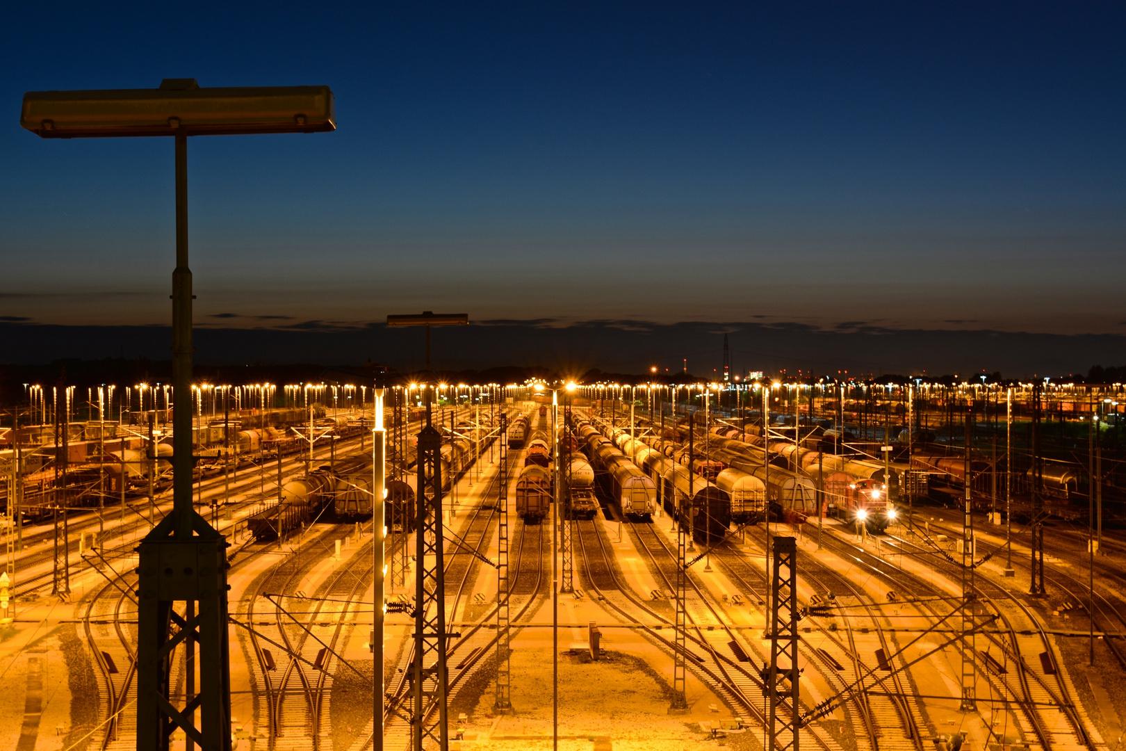 Nightflight am Güterbahnhof Maschen
