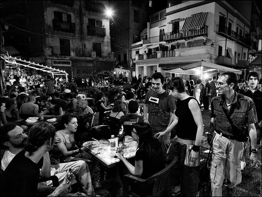 Nightlife at Vucciria