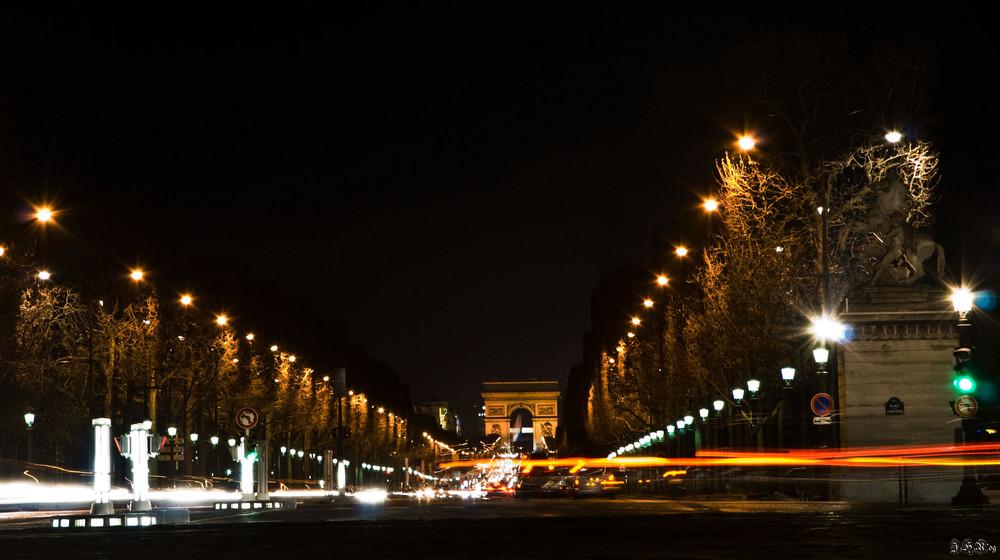 Nightlife Champs Elysees