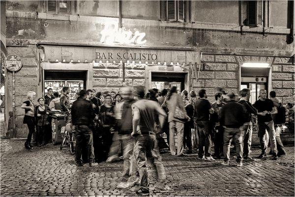 Nightlife in Trastevere