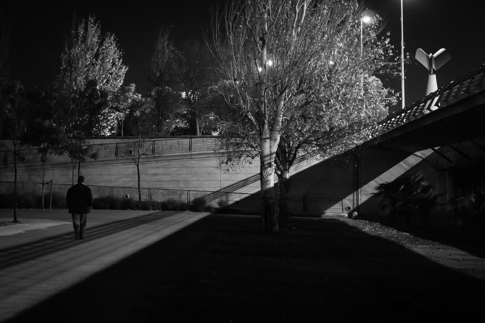 night's angel departing